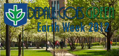 DePaul Earth Week 2012